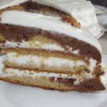 Творожный торт на сковороде с заварным кремом