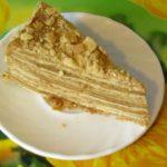 торт Наполеон из слоёного теста