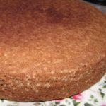 Шоколадный торт «Негр в пене»
