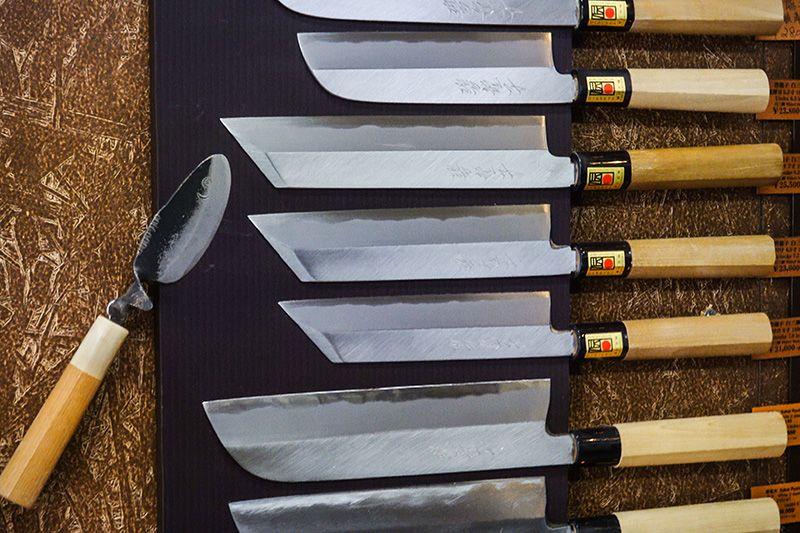 Выбор ножа для суши