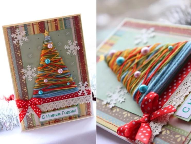 Милые открытки к Новому Году