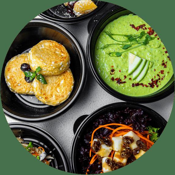 Заказ еды от NODEFOOD